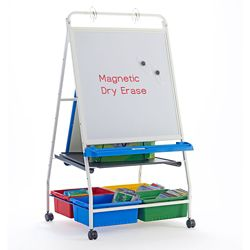 "White Board Reading and Writing Center - 33.5""W x 56.5""H"