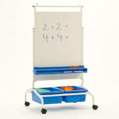"""Deluxe White Board Chart Stand - 28""""W x 69.5""""H"""