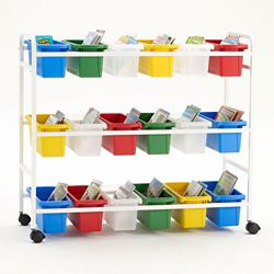 "18 Tub Storage Cart - 36.5""H"