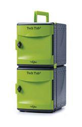 Tech Tub2 Ten Tablet Charging and Storage Tub with USB Hub