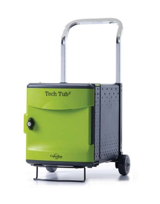 Tech Tub2 Six Tablet Charging and Storage Tub with Trolley