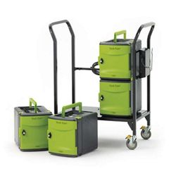 Tech Tub2 Cart with Four 6 Device Tubs