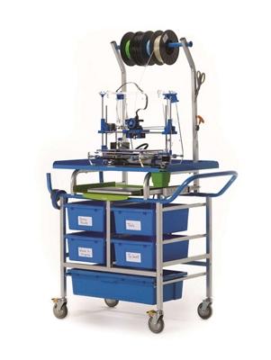 3D Printer Cart with Storage