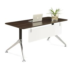 "Astoria Compact Table Desk with Modesty Panel - 60""W x 30""D"