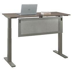 "At Work Desk with Modesty Panel - 48""W"