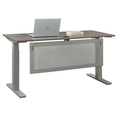 "At Work Desk with Modesty Panel - 60""W"