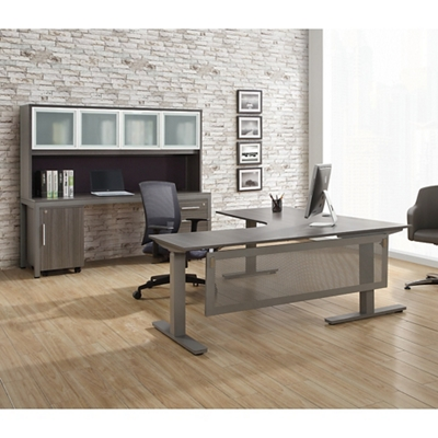 At Work Executive L Desk Office Suite By Nbf Signature
