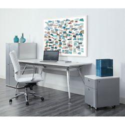Brilliant Laminate Desk and Storage Suite