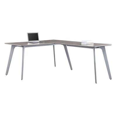 "Portland Compact Reversible L-Desk - 60""W x 78""D"