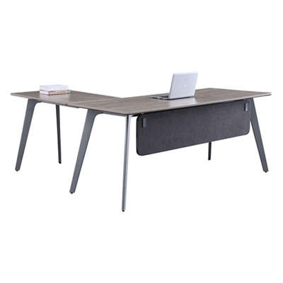 "Portland Reversible L-Desk with Modesty Panel - 72""W x 66""D"