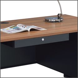 Shown with Teak desk