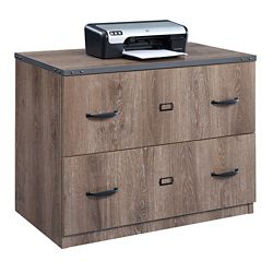 "Rivet 36""W Two Drawer Lateral File"