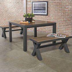 "Rivet Square Meeting Table - 48""W x 48""D"