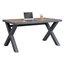 "Rivet Compact Writing Desk - 60""W x 30""D"