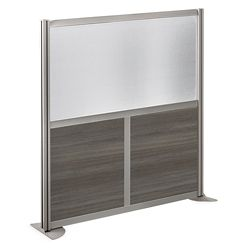 "At Work 49"" W x 53"" H Room Divider"