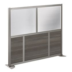 "At Work 61"" W x 53"" H Room Divider"