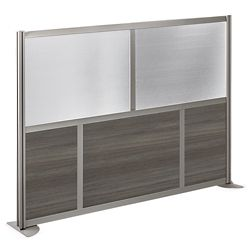 "At Work 73.25"" W x 53"" H Room Divider"