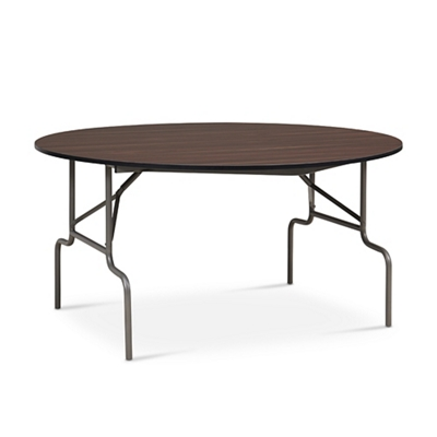"Valuemax Round Folding Table - 60"" Diameter"