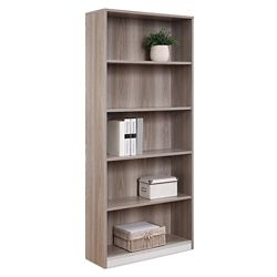 """At Work 72""""H Open Bookcase"""