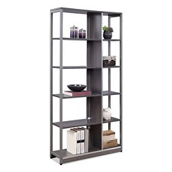 "At Work 72""H Ten Compartment Bookcase"