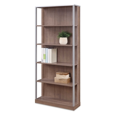 "Compass 72""H Five-Shelf Bookcase"