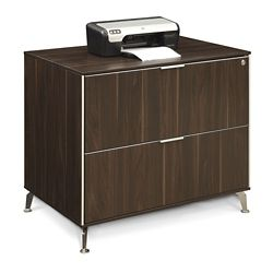 "Astoria Two Drawer Lateral File - 35.43""W"