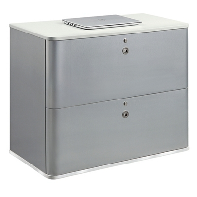 "Brilliant 37""W Two Drawer Lateral File"