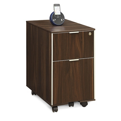 "Astoria Two Drawer Mobile Pedestal - 15.75""W"