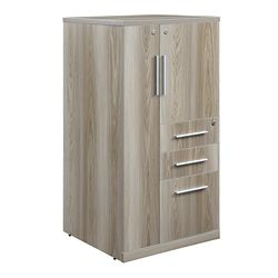 "At Work Wardrobe with Left Door - 47.64""H"