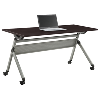"At Work Flip Top Training Table - 60""W x 24""D"