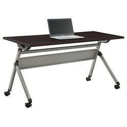 """At Work Flip Top Training Table - 60""""W x 24""""D"""
