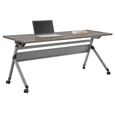 "At Work Flip Top Training Table 72""W x 24""D"