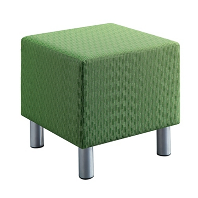 Gather Soft Fabric Square Shape Seat