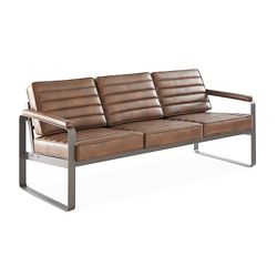 Rivet Three-Seat Lounge Sofa