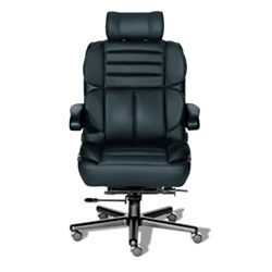 24/7 Big and Tall Chair with Headrest in Leather