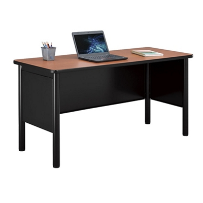 "Stahl Steel Desk Shell with Laminate Top - 72""W x 24""D"