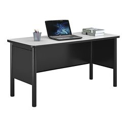 "Stahl Steel Desk Shell with Laminate Top - 60""W x 24""D"