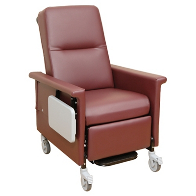 Heat and Massage Recliner with Trendelenburg and Side Table