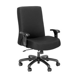Everest 24-Hour Big & Tall Mid-Back Fabric Chair