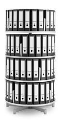Binder Carousel with 4 Tiers