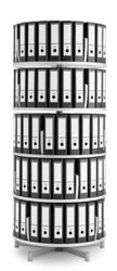 Binder Carousel with 5 Tiers