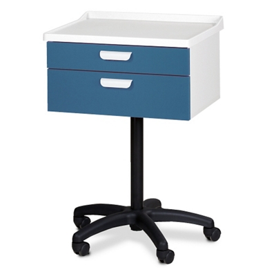 Mobile Two Drawer Equipment Cart