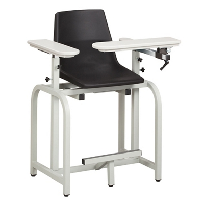 Phlebotomy Chair with Plastic Seat