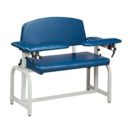 Extra Wide Phlebotomy Chair with Flip Arms