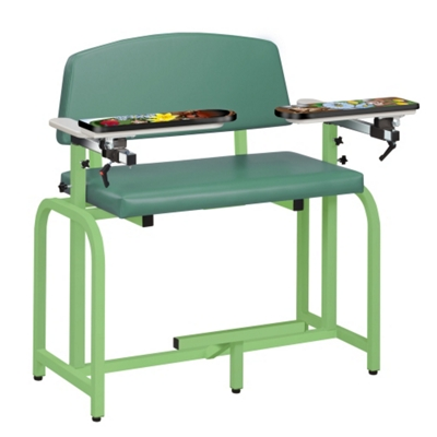 "Extra-Wide Themed Pediatric Phlebotomy Chair - 46""W"