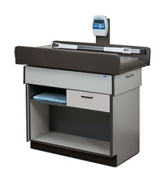 Pediatric One Drawer Exam Table with Digital Scale and Storage
