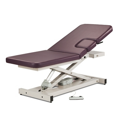 Imaging Table with Window Drop and Adjustable Backrest