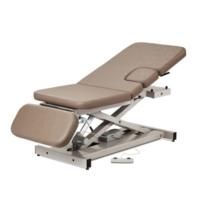Imaging Table with Window Drop and Adjustable Backrest and Footrest