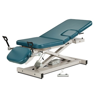 Imaging Table with Adjustable Sections and Stirrups