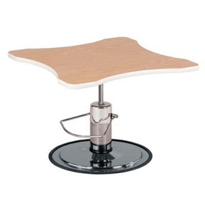 Curved Adjustable Height Hand Therapy Table with Foot Pump